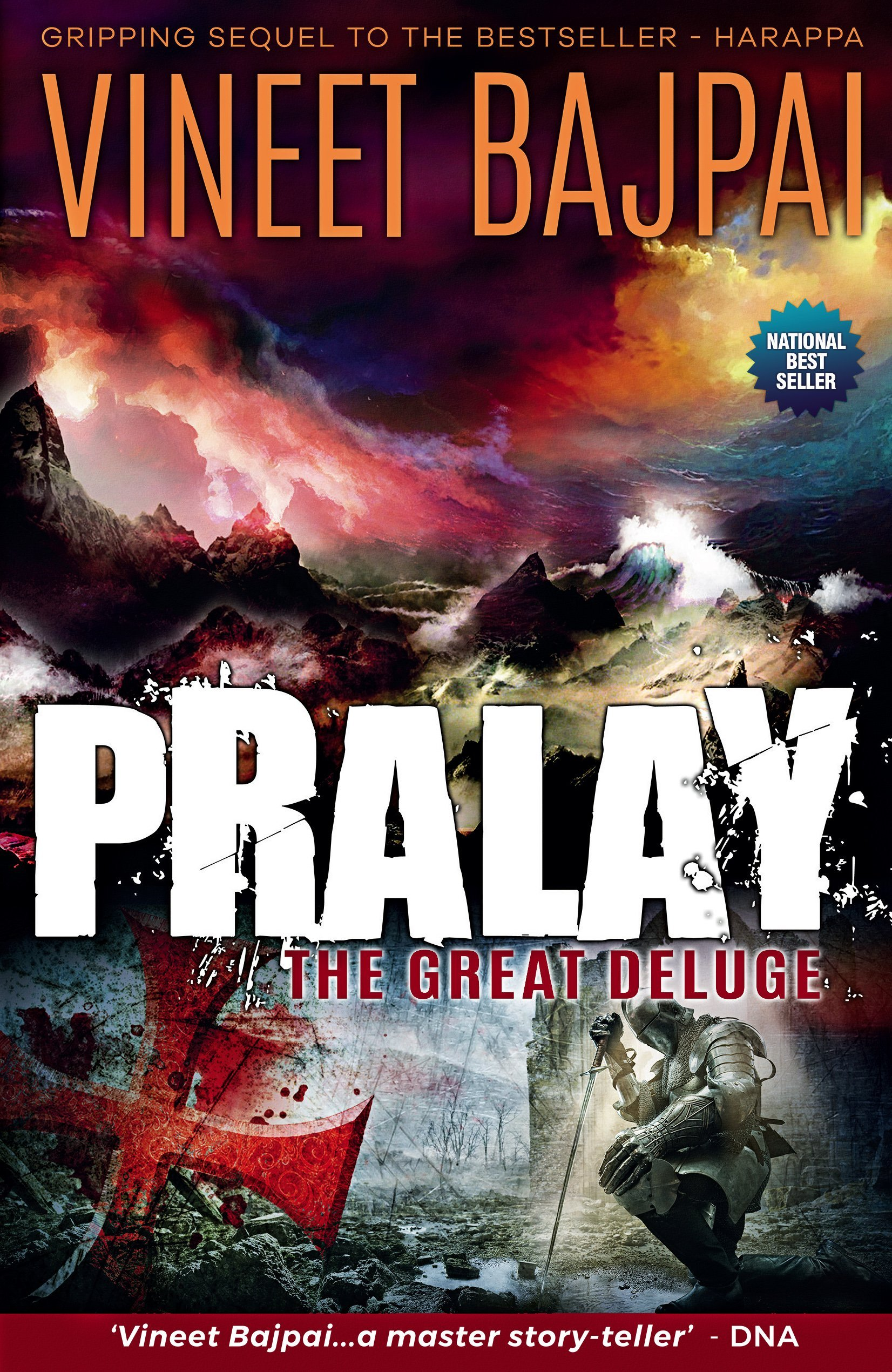 Buy Pralay: The Great Deluge (Harappa) Book Online at Low Prices in India |  Pralay: The Great Deluge (Harappa) Reviews & Ratings - Amazon.in