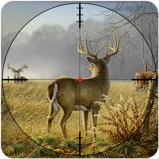 Tree Wild Animal - Wild Deer Hunting Sniper 2018