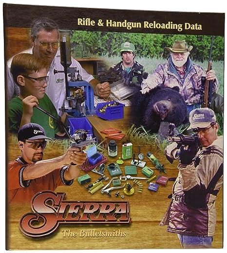 amazon com sierra 5th edition rifle handgun reloading manual books rh amazon com sierra 5th edition reloading manual pdf download sierra 5th edition reloading manual pdf