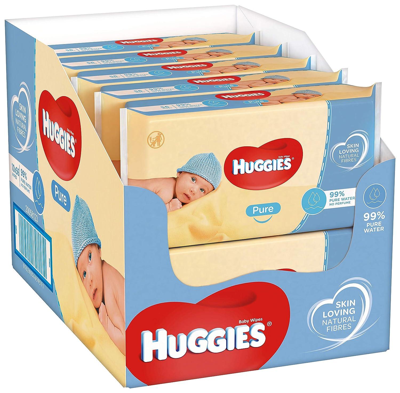 Huggies 1 x Pack de 56 Toallitas para Beb/é