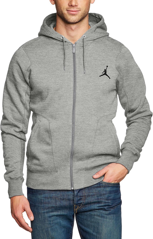 Nike Jordan 237 Veste à capuche zippé Homme Gris