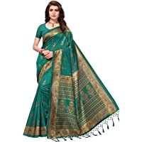 ANNI DESIGNER Women's silk Saree