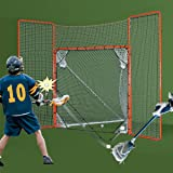 EZGoal Lacrosse Folding Goal with Backstop and