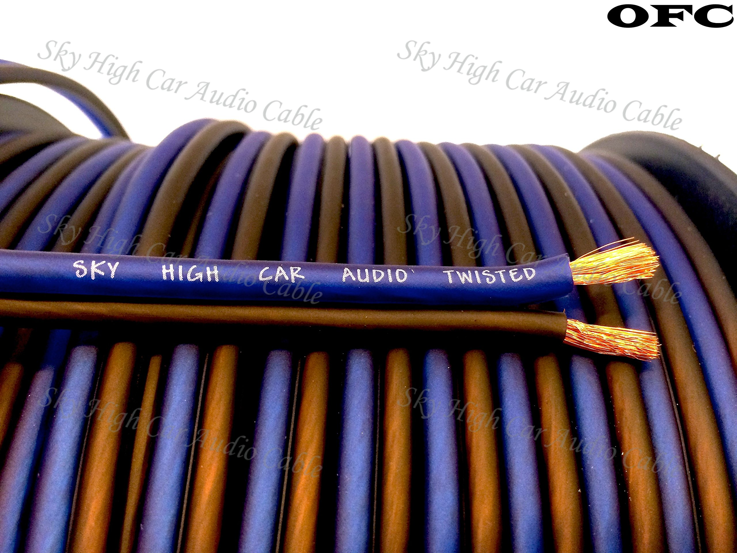 200' feet OFC TRUE 12 Gauge AWG Oxygen Free Copper Speaker Wire Car Home Audio