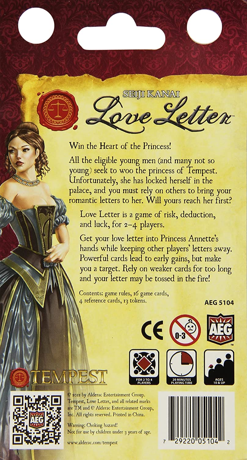 Amazon Alderac Entertainment Group Love Letter Toys Games