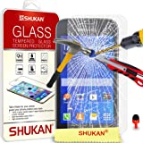 Samsung Galaxy ACE 4 écran en verre trempé Crystal Clear LCD Protecteur & Chiffon SVL6 PAR SHUKAN®, (TREMPÉ)