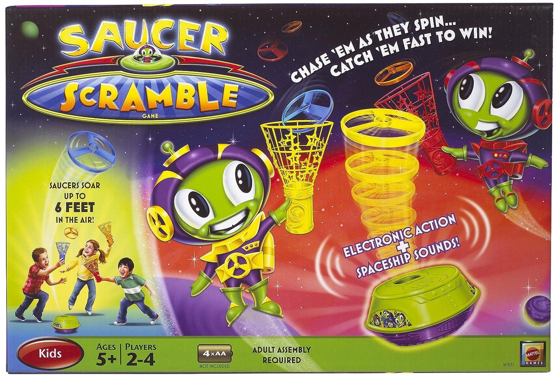 Saucer Scramble Game