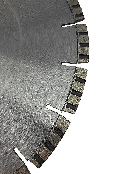 mamposter/ía 350mm Hoja de diamante Disco de corte de 25,4 mm de di/ámetro Stihl vio de hormig/ón