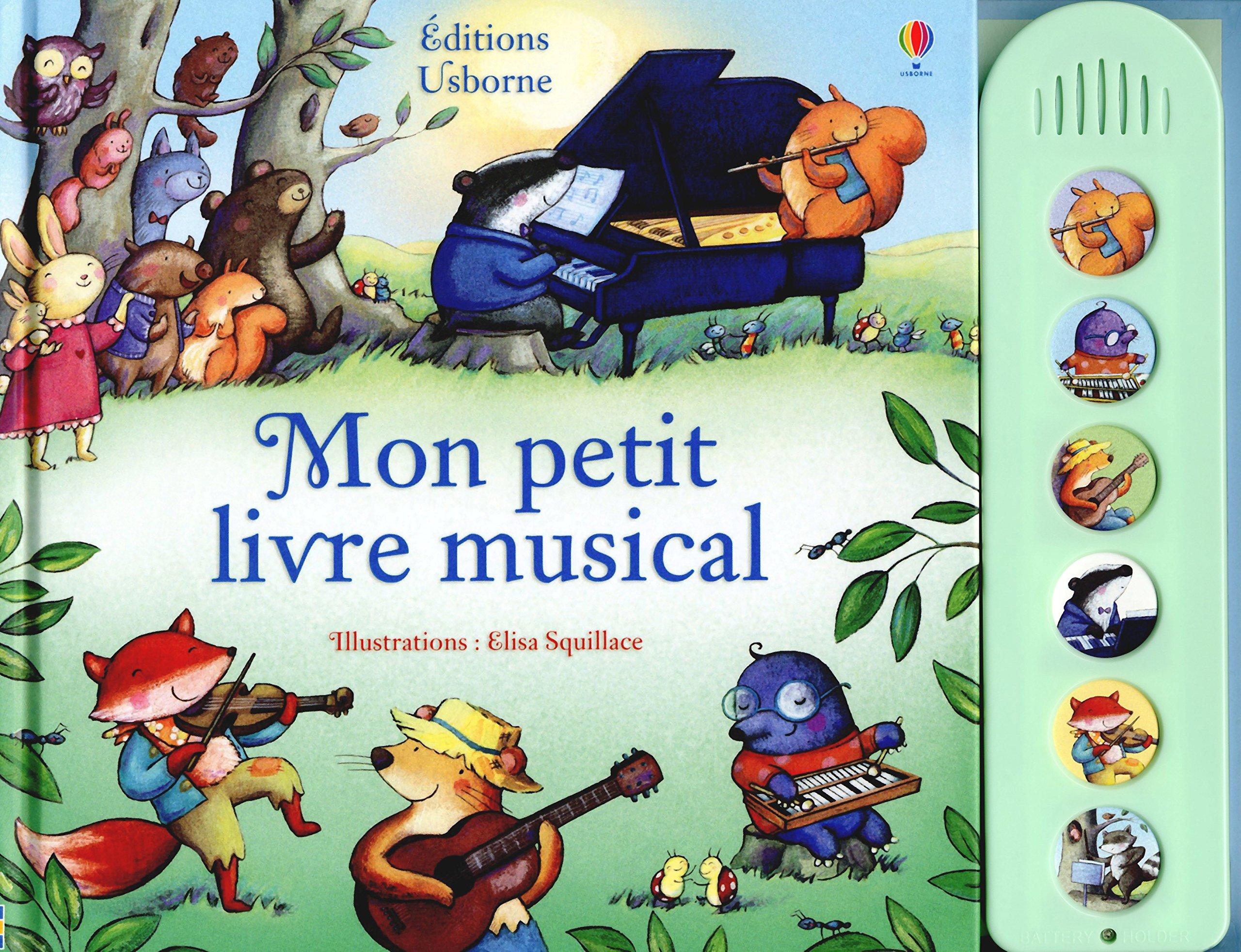 Mon Petit Livre Musical Fiona Watt Elisa Squillace