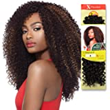 "Outre Synthetic Hair Crochet Braids X-Pression Braid 4 In 1 Loop Kinky Curl 14"" (1-Pack, 1)"