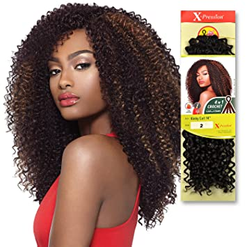 Amazoncom Outre Synthetic Hair Crochet Braids X Pression Braid 4