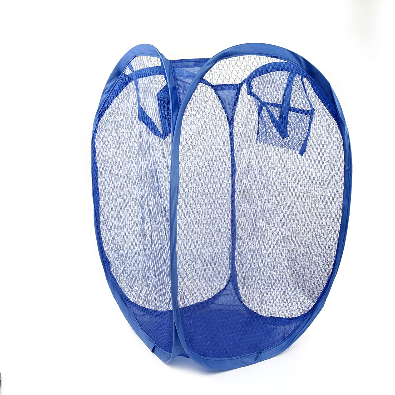 QHGstore Cesta plegable de la cesta de almacenaje de la cesta de la malla para la ropa sucia del juguete