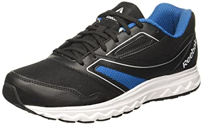 Image Unavailable. Image not available for. Colour  Reebok Men s Explore  Run Black Cycle Blue Running Shoes ... 7d4d54d8e
