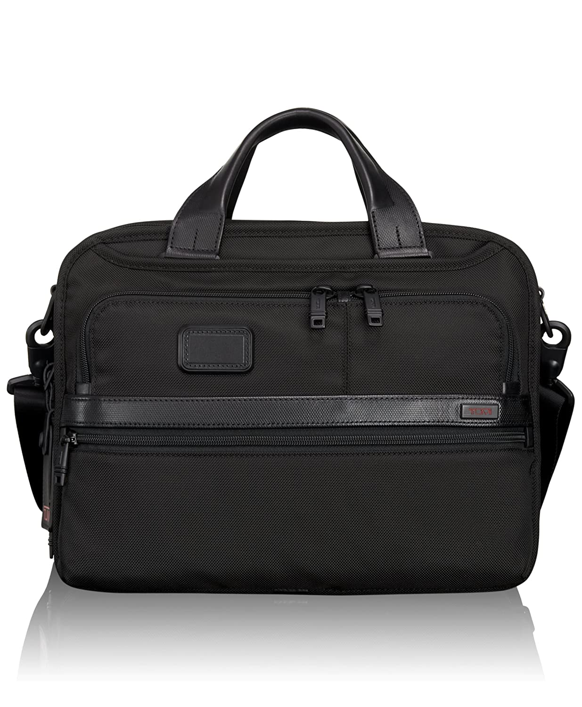 [トゥミ] ビジネスバッグ 公式 正規品 ALPHA2 スモールスクリーンエクスパンダブルラップトップブリーフ 9212002 B00LA6RDEEブラック