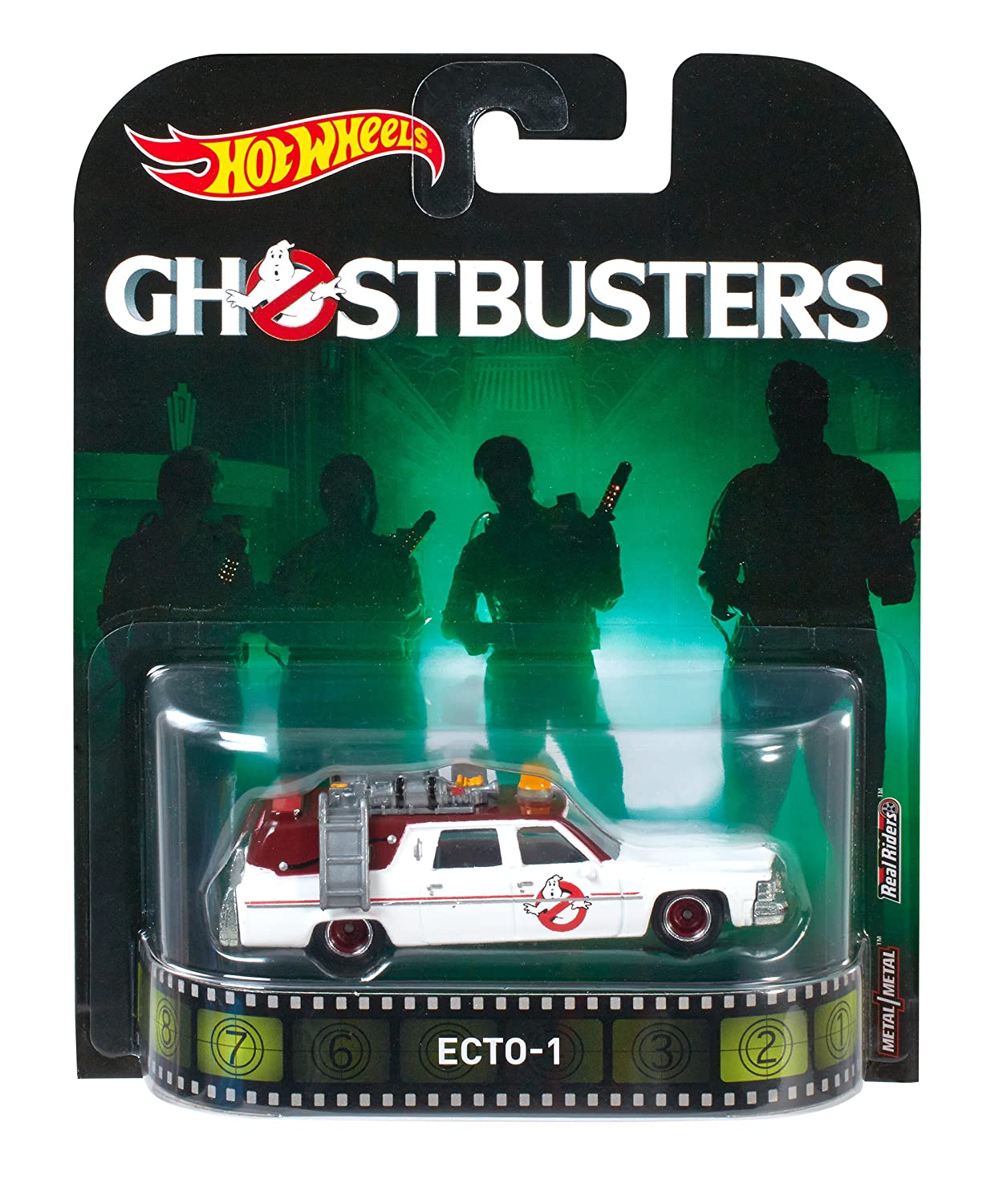 Hot Wheels Ghostbusters ECTO-1 Vehicle Mattel DWJ72