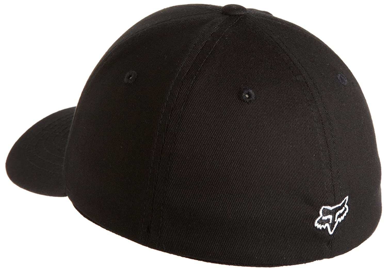 Fox Racing Youth Legacy Flexfit Hat//Cap Black One Size Fox Head Kids 58231-Black-One Size