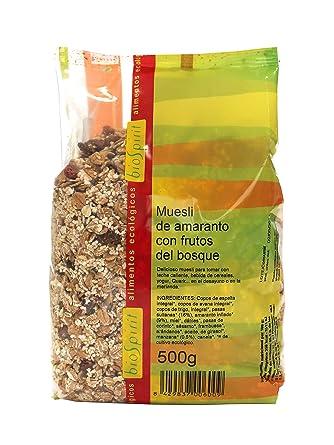 Biospirit Muesli de Amaranto con Frutos del Bosque de Cultivo Ecológico - 500 gr