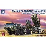 青島文化教材社 1/72 アメリカ陸軍 HEMTT M983&パトリオットPAC3発射機 プラモデル UA72080