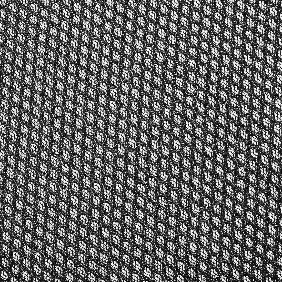 uxcell Speaker Grill Cloth 1x1.45 Meters 39x57 Inch Polyester Fiber Dustproof Stereo Mesh Fabric for Repair DIY Black