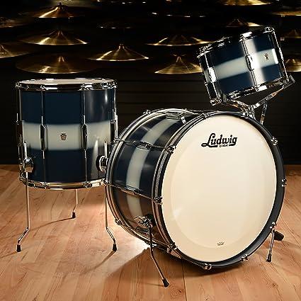 Ludwig Club Date Pro Beat 3pc Shell Pack er et højkvalitets sæt fra Ludwig og er en del af deres berømte Club Date sortiment af trommer.