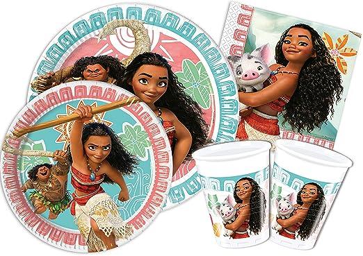 97 opinioni per Ciao Y4327- Kit Party Festa in Tavola Vaiana Oceania per 8 persone (44 pezzi: 8