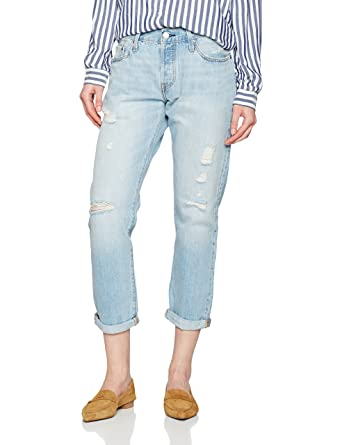 651696a8 Levi's Women's 501 Ct Jeans, Blue (Turbulent Indigo 0042), ...