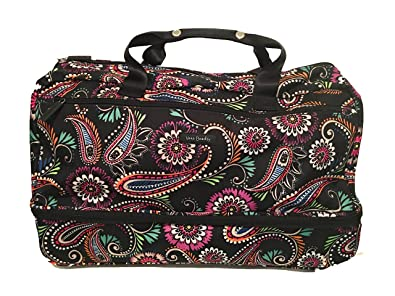 Amazon.com  Vera Bradley Lighten Up Wheeled Carry On Bandana Swirl  Clothing 807f883c63