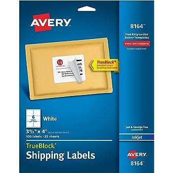 amazon com avery shipping address labels inkjet printers 150