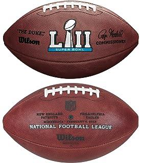 6d2e99c5 Wilson NFL Super Bowl LII (52) Official Football New England Patriots vs  Philadelphia Eagles
