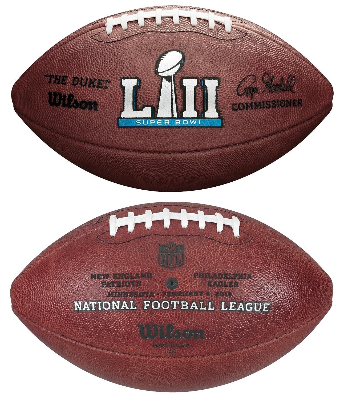 【2019正規激安】 ウィルソンNFL Super Bowl LII ( 52 )公式サッカーNew Super Bowl England Patriots LII vs Philadelphia Eagles B0797L34X6, ネームインポエムWILLBE:936ad53d --- login.spamwall.ie