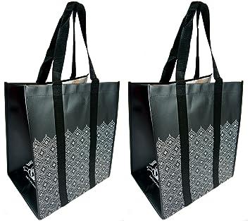 a01bd805bf Amazon.com  Buti-Earth-Bag Extra Large Reusable Shopping Bags with ...