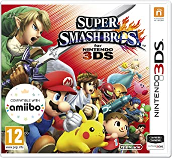Super Smash Bros  for 3DS (Nintendo 3DS): Amazon co uk: PC & Video Games