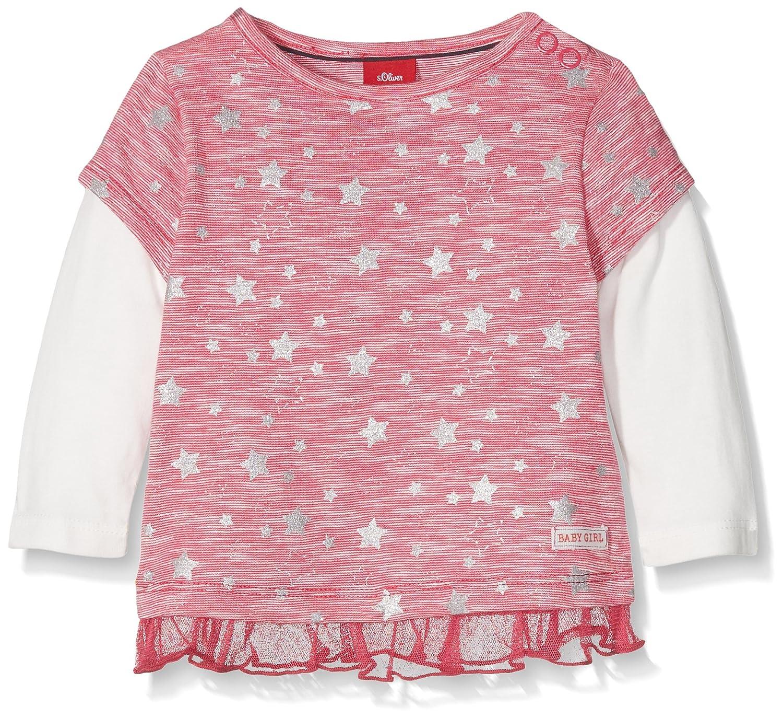 s.Oliver Camiseta de Manga Larga para Bebés s.Oliver 65.711.31.7681 92 cm