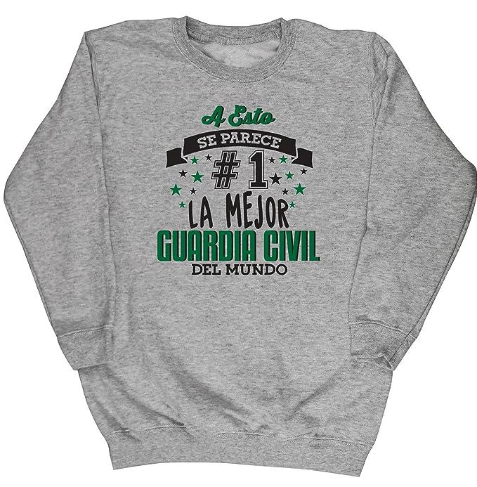 HippoWarehouse A Esto Se Parece #1 La Mejor Guardia Civil Del Mundo jersey sudadera suéter