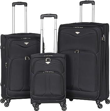 Large Lightweight 4 Wheel Suitcase