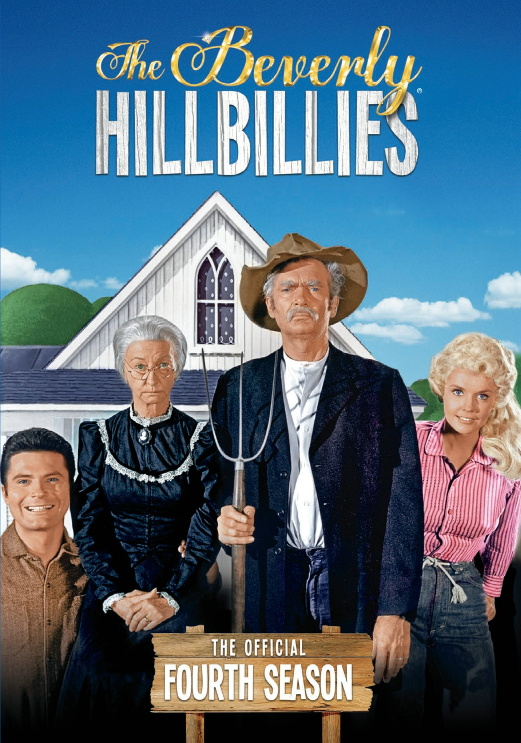 DVD : The Beverly Hillbillies: The Official Fourth Season (Boxed Set, Full Frame, , 4 Disc, Sensormatic)