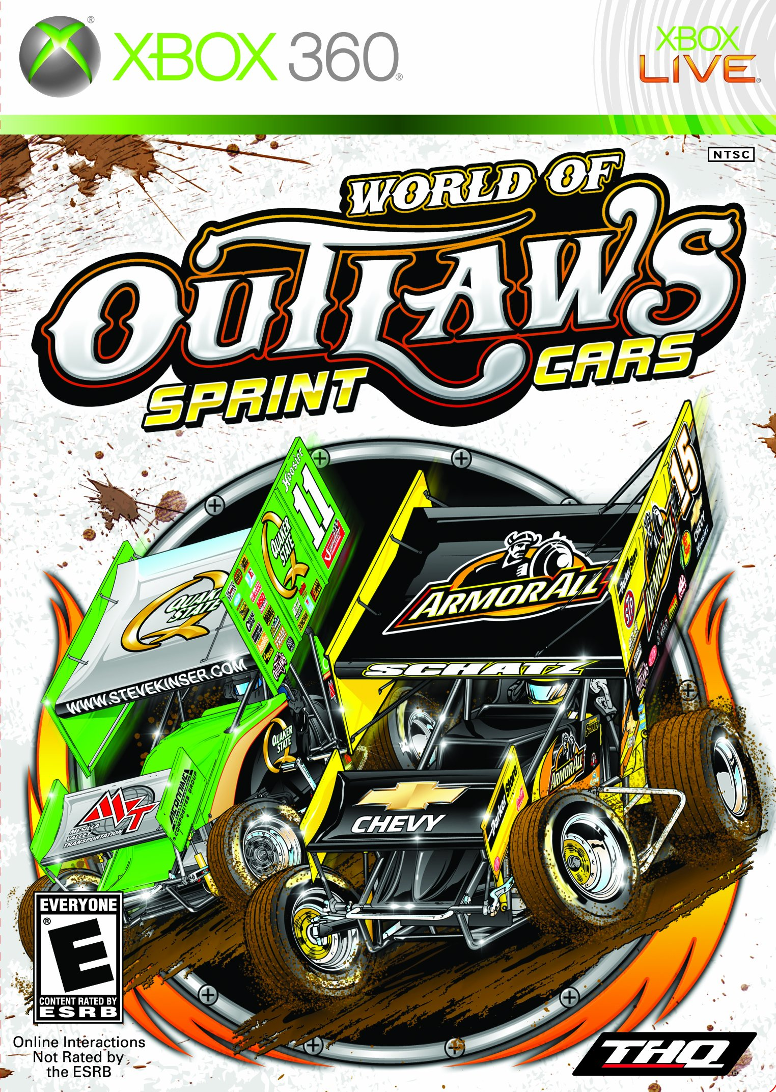 World Of Outlaws Sprint Cars - Xbox 360