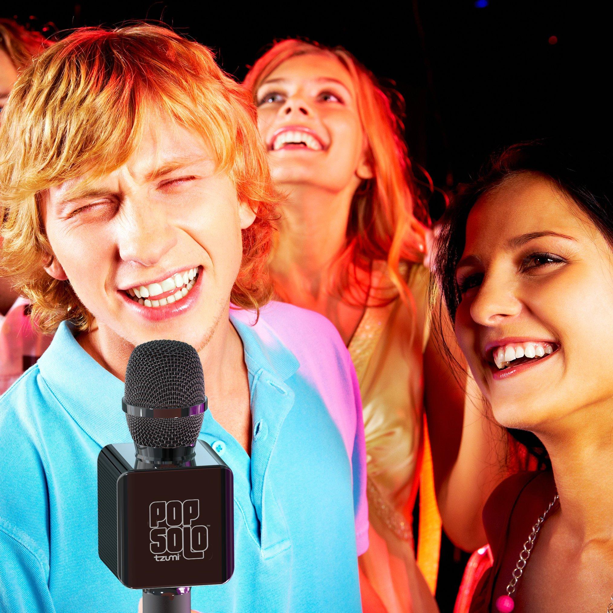 Tzumi Electronics 4955-B Portable Karaoke System, Black