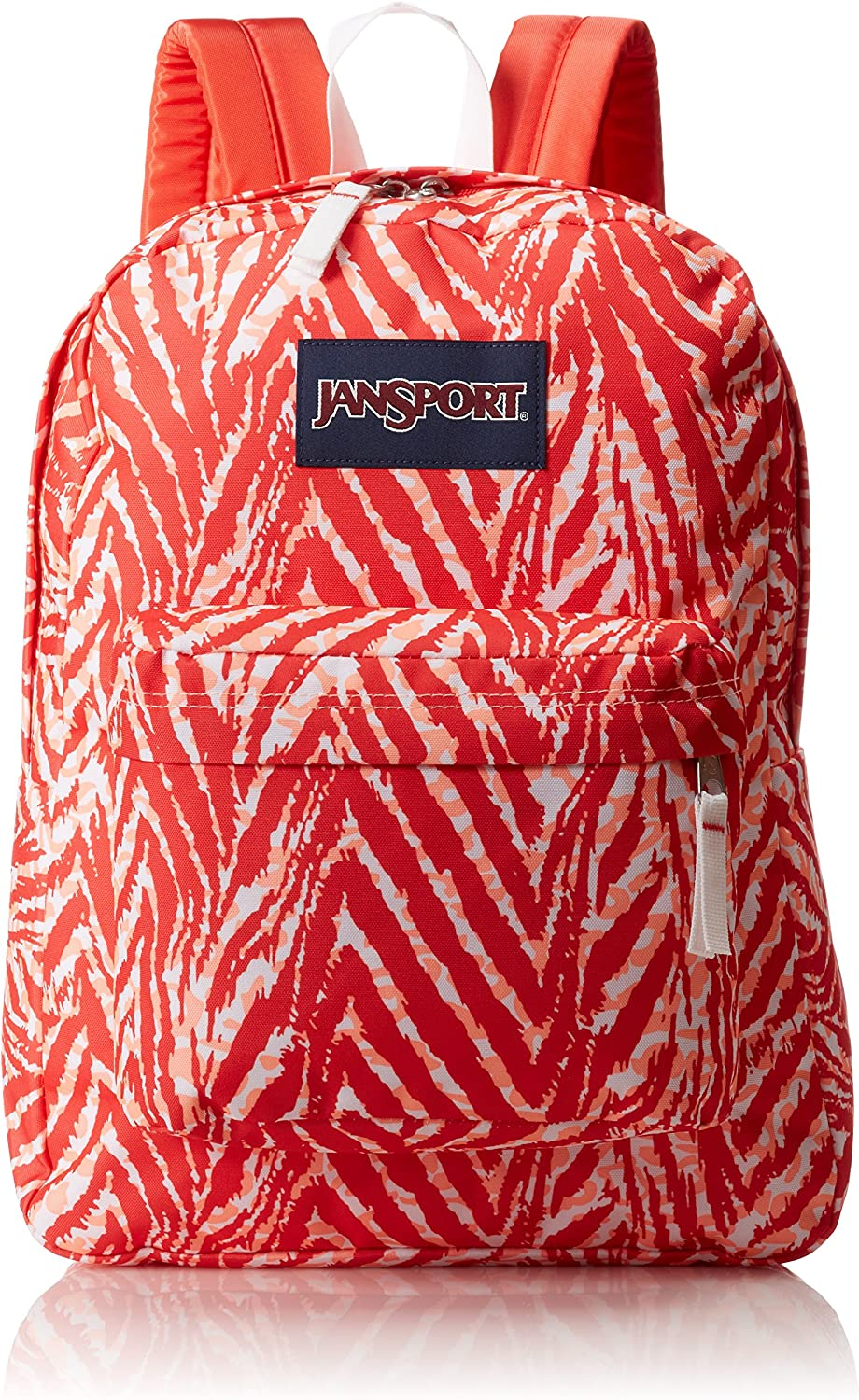JanSport Unisex SuperBreak Coral Peaches Wild At Heart One Size