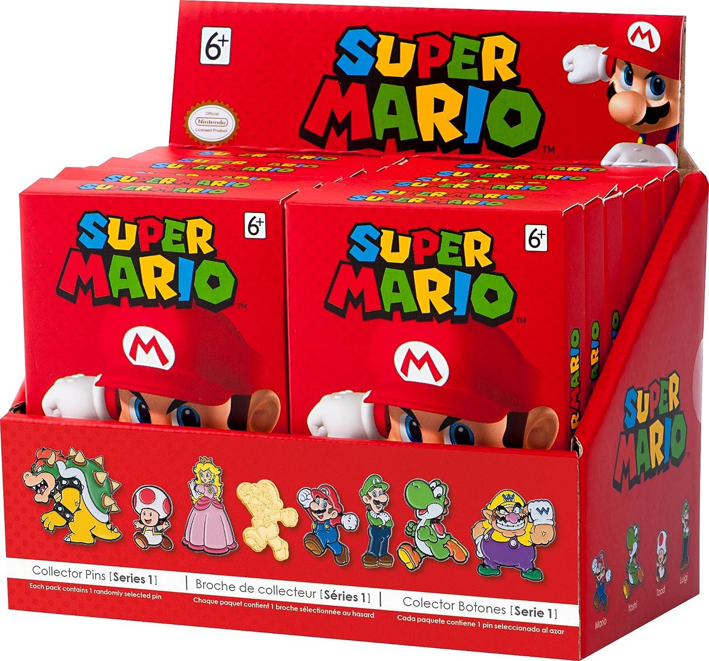 Amazon com: PowerA Super Mario Collector Pins: Series 1