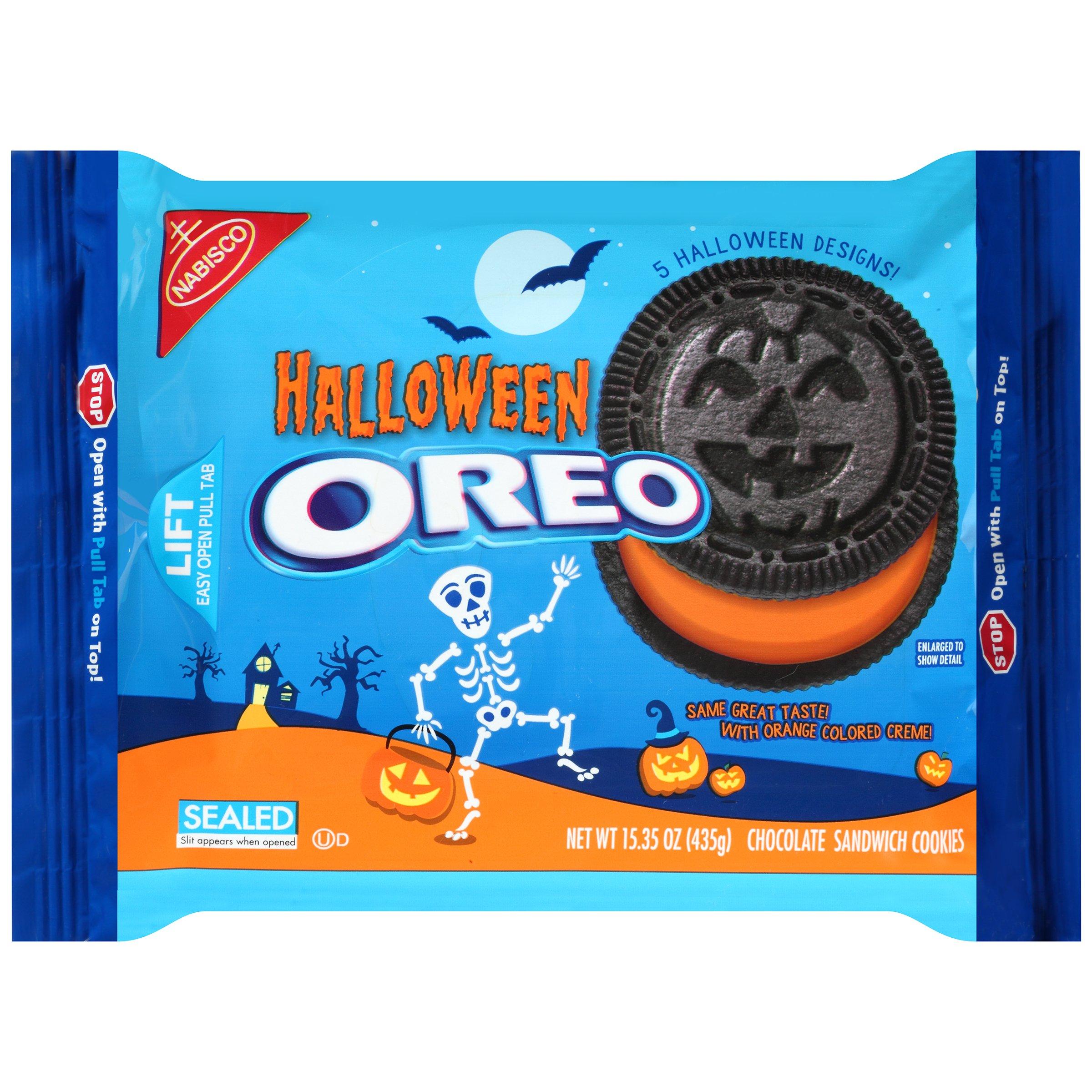 Nabisco Oreo Halloween Chocolate Sandwich Cookies, 15.35 Ounce