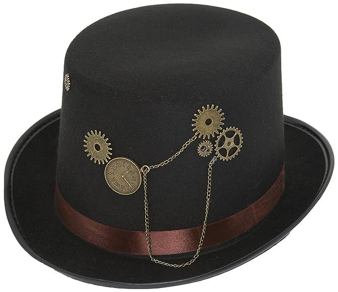 Amazon.com  Jacobson Felt Steampunk Top Hat  Clothing bb888af13689
