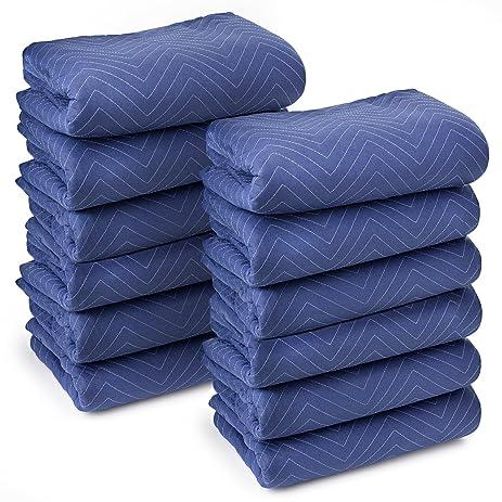 Sure Max 12 Moving Blanket Furniture Pads   Deluxe Pro   80u0026quot; X 72u0026quot