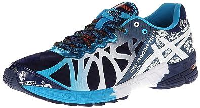 online store 7bf98 3cd5d ASICS Men s Gel-Noosa Tri 9 Running Shoe,Navy White Flame,