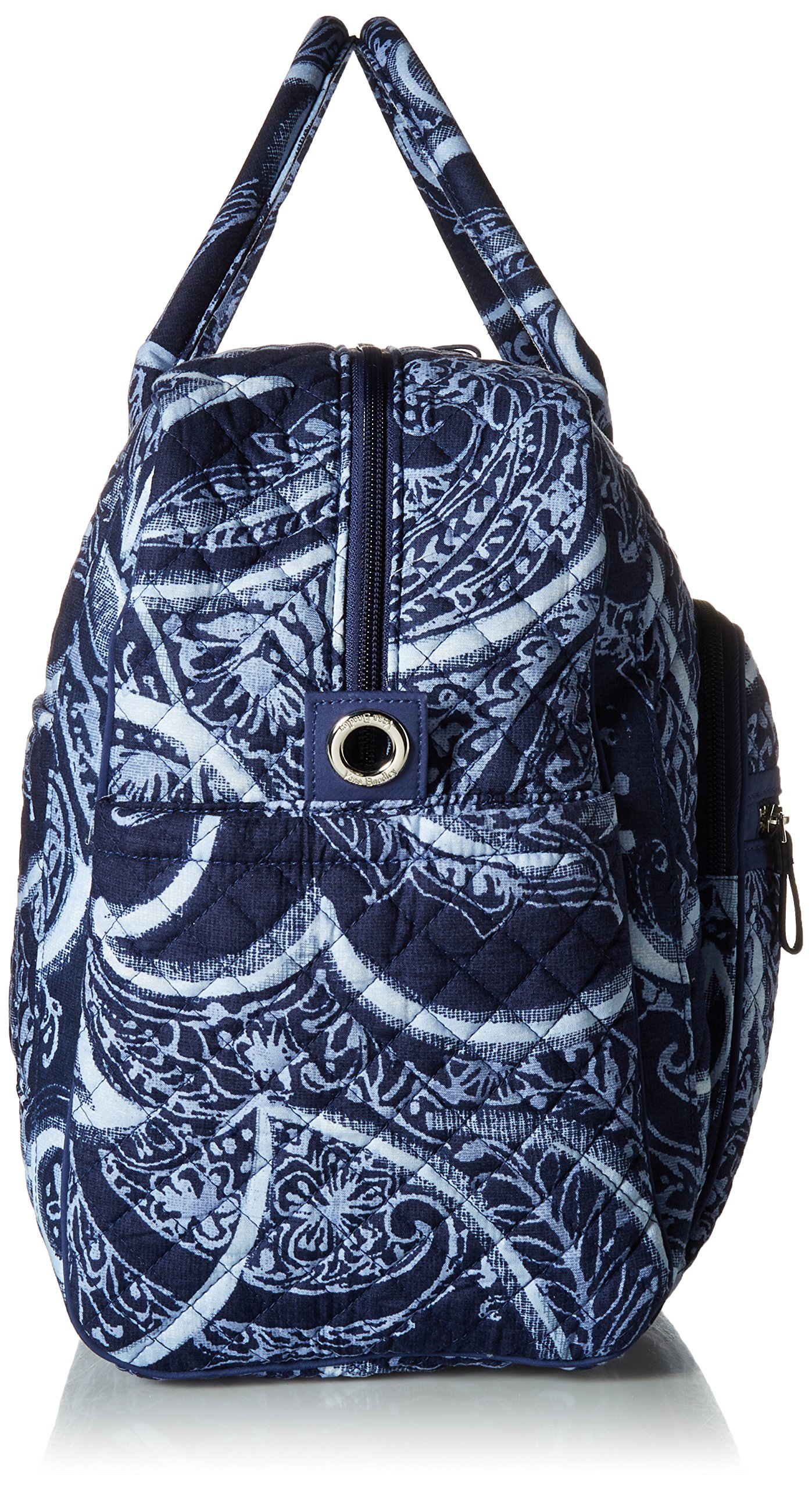 Vera Bradley Iconic Weekender Travel Bag, Signature Cotton, Indio by Vera Bradley (Image #3)