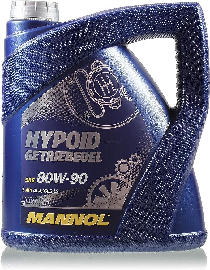 5 Litre Original Mannol Hypoid Oil Gear Oil 80w 90 Api Gl 4 Gl Ls Auto