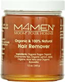 M4Men, Moom For Men, 100% Organic Hair Removal 12oz/345g Refill Jar