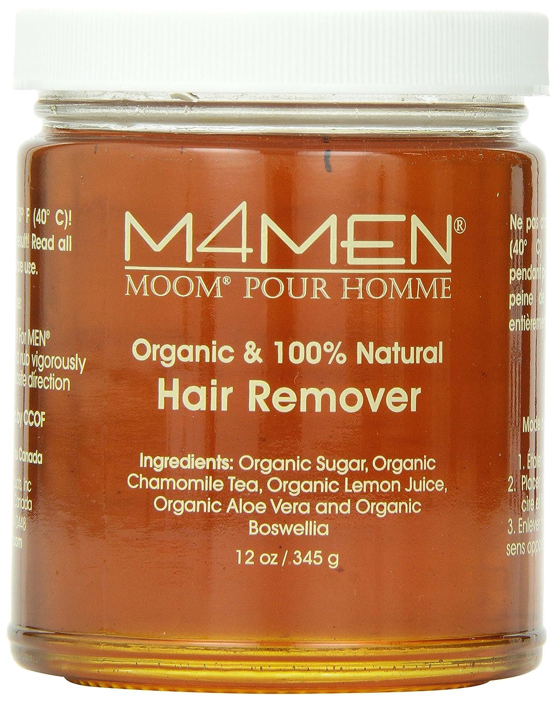 Moom For Men Organic Hair Remover Refill, 12-Ounce Jar SHOMDAS1062