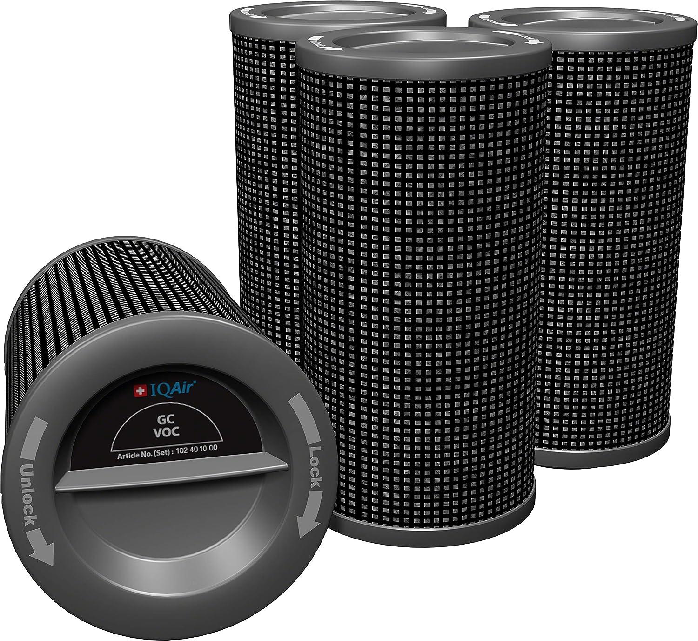 iqair GC VOC Cartuchos de filtro Set – Filtro para el iqair GC VOC ...