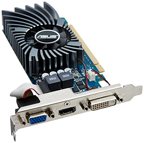 Asus GT640-1GD5-L - Tarjeta gráfica de 1 GB con nVIDIA GeForce GT 640 (gddr5, HDMI, DVI)